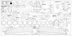 Lysander model airplane plan