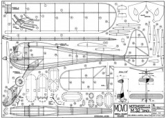 M-32 DINDI model airplane plan