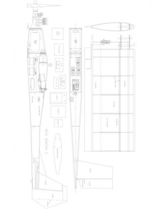 MARTHA-5 Model 1 model airplane plan