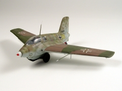 Messerschmitt Me 163 Komet model airplane plan