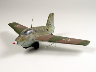 Messerschmitt Me 163 Komet model airplane plan