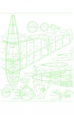 ME163B3 Model 1 model airplane plan