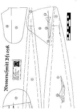 MESS1 model airplane plan