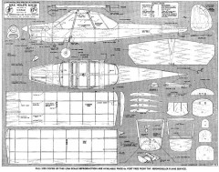 MH 152 2 model airplane plan