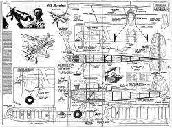 MI Acrobat model airplane plan
