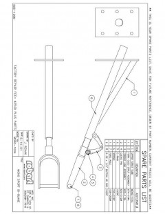 MONGSP model airplane plan