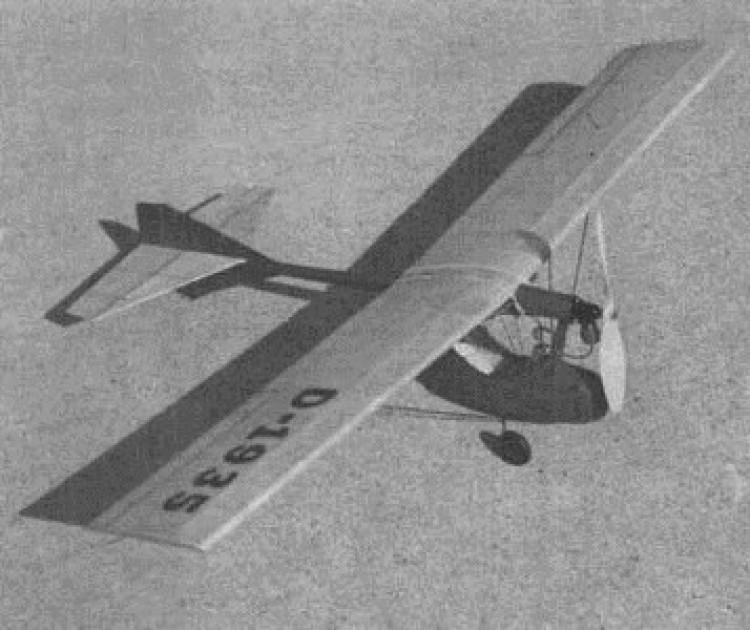 M 33 model airplane plan