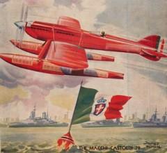 Macchi Castoldi 72 model airplane plan