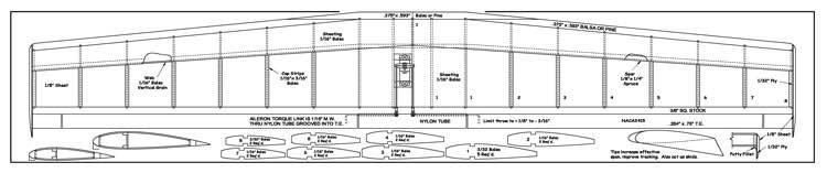 MachNone model airplane plan