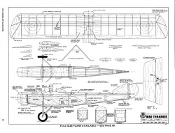 Mad Thrasher-RCM-07-70 model airplane plan