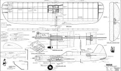 Magician Stunt 48in CL Sweitzer model airplane plan