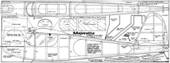 Majorette model airplane plan
