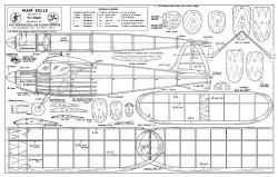 Mamselle model airplane plan
