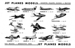 Maquettes Volantes F100 model airplane plan
