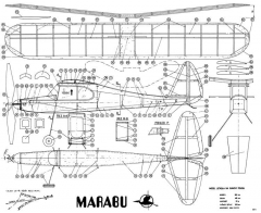 Marabu model airplane plan