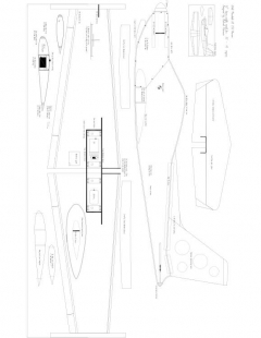 Marchetti SF-260 Model 1 model airplane plan