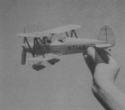 Marquart MA-5 model airplane plan