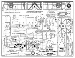 MartinTorpedoBomber model airplane plan