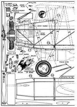 Martin Dive Bomber p1 model airplane plan
