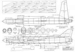 Marut CL Stunt model airplane plan