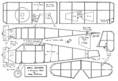 Mass General model airplane plan