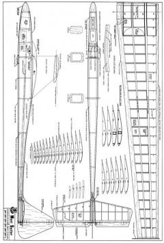 Maxi Sailor Plan2bit model airplane plan