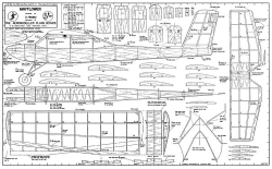 Mayflower model airplane plan