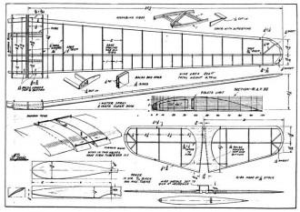 Mayfly 2 Wake p2 model airplane plan