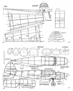 Me108 model airplane plan