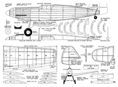 Me 109 model airplane plan