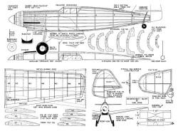 Me 109 model airplane plan