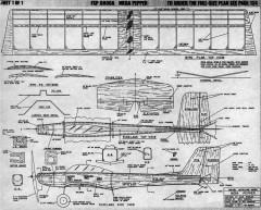 Mega Pepper model airplane plan