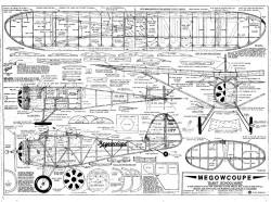 Megowcoupe model airplane plan