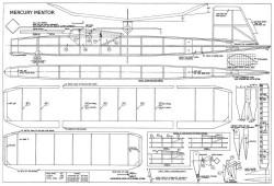 Mentor Mercury model airplane plan