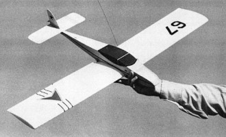 Merlin model airplane plan