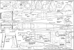 Messerschmitt Bf109 G16 model airplane plan
