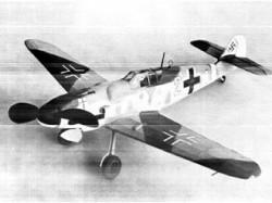 Messerschmitt Bf 109 G-6 model airplane plan