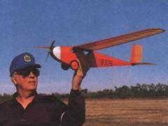 Messerschmitt M 17 model airplane plan
