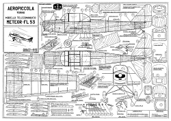 Meteor FL.53 model airplane plan