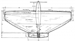 Metk1 model airplane plan
