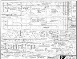 Metrick 78in model airplane plan