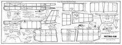 Metro Air model airplane plan