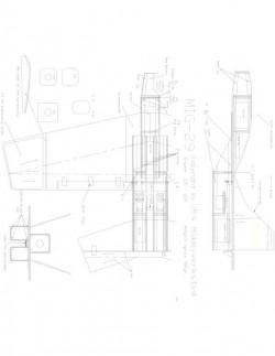 Mig29 Model 1 model airplane plan