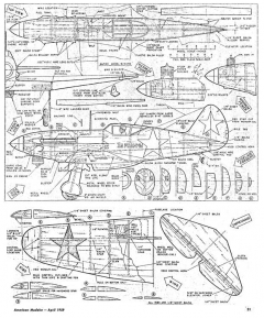 Mig 3 model airplane plan