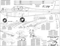 Mighty Mambo 68in model airplane plan