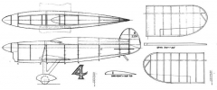 Miles Atwood model airplane plan