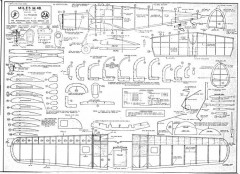 Miles M48 model airplane plan