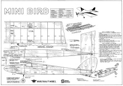 Royal Marutaka Mini Bird model airplane plan