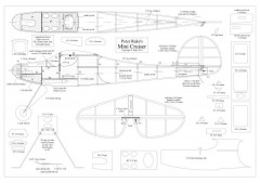 Mini Cruiser model airplane plan