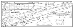 Mini Pronto 48in model airplane plan
